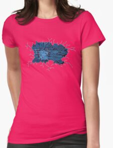 watch inside ... Womens Fitted T-Shirt