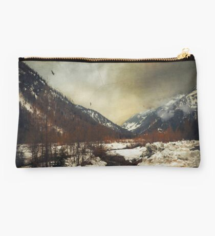 winter valley Studio Pouch