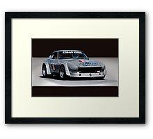 1973 Datsun 240Z GT Vintage Race Car Framed Print