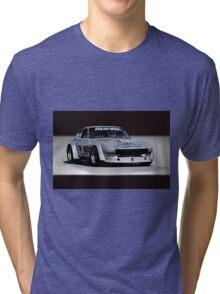 1973 Datsun 240Z GT Vintage Race Car Tri-blend T-Shirt
