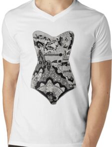 Lingerie Mens V-Neck T-Shirt