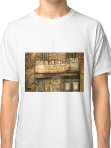 India Electric Co. Classic T-Shirt
