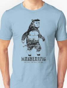 MANBEARPIG South Park Mythical Beast Funny Vintage T-Shirt