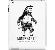 MANBEARPIG South Park Mythical Beast Funny Vintage iPad Case/Skin