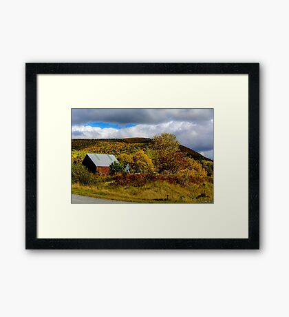 Countryside in Mabou Framed Print