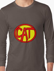 Hero, Heroine, Superhero, Super Cat Long Sleeve T-Shirt