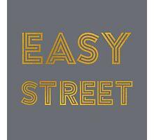 Easy Street (Gray) Photographic Print