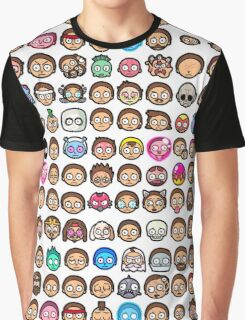 Pocket Mortys Graphic T-Shirt