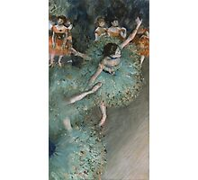 Edgar Degas - Swaying Dancer. Degas- Dancer in Green ,  show, ballet, dancers, ballerina, ballet dancer, dance, impressionism, music, opera, tutu , dress, beauty, love, girls, party Photographic Print