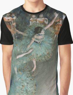 Edgar Degas - Swaying Dancer. Degas- Dancer in Green ,  show, ballet, dancers, ballerina, ballet dancer, dance, impressionism, music, opera, tutu , dress, beauty, love, girls, party Graphic T-Shirt