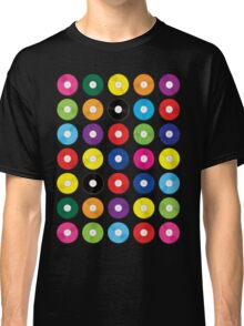 Music Vinyl Record Spots Sml Classic T-Shirt