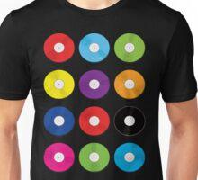 Record Spots Lrg Unisex T-Shirt