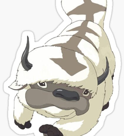APPA SKY BISON Japanese Anime, Flying, The Last Airbender Avatar Sticker