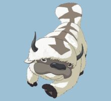APPA SKY BISON Japanese Anime, Flying, The Last Airbender Avatar One Piece - Short Sleeve