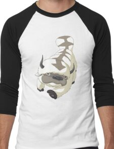 APPA SKY BISON Japanese Anime, Flying, The Last Airbender Avatar Men's Baseball ¾ T-Shirt