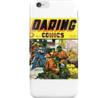 Daring Mystery Comics iPhone Case/Skin