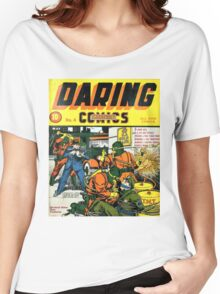 Daring Mystery Comics Women's Relaxed Fit T-Shirt