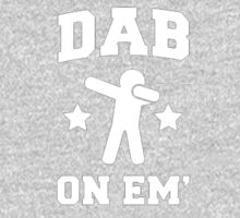 Dab On Em' stickman One Piece - Long Sleeve