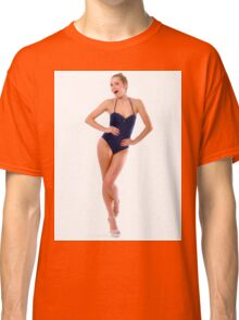 Gorgeous Fitness Girl Classic T-Shirt