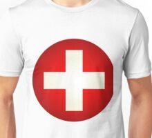 White cross Unisex T-Shirt