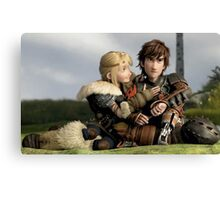 Astrid 2 - How to Train Your Dragon Canvas Print
