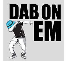 Dab Dance Photographic Print