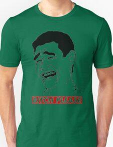 BITCH PLEASE Yao Ming Face, Meme, Rage Comics, Geek, Funny Unisex T-Shirt
