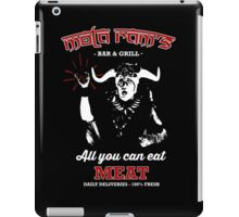 Mola Ram's Bar & Grill iPad Case/Skin