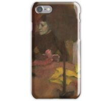 Edgar Degas - The Milliners ( 1882 - 1905) iPhone Case/Skin