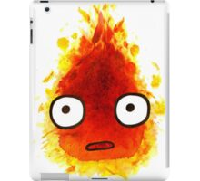 CALCIFER Japan Fire Spirit, Totoro iPad Case/Skin