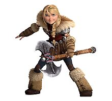Astrid 4 - How to Train Your Dragon Photographic Print