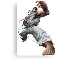 Street Fighter Ryu - Case  Canvas Print
