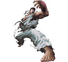 Street Fighter Ryu - Case  Photographic Print