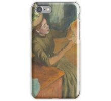 Edgar Degas - The Millinery Shop (1879-86) iPhone Case/Skin