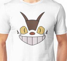 CAT BUS FACE My Neighbor Totoro, Anime, Japanese Catbus Unisex T-Shirt