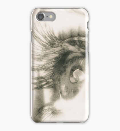 Look me in the eyes iPhone Case/Skin