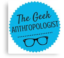 The Geek Anthropologist Logo Canvas Print