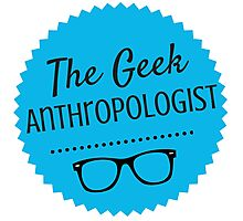 The Geek Anthropologist Logo Photographic Print
