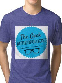 The Geek Anthropologist Logo Tri-blend T-Shirt
