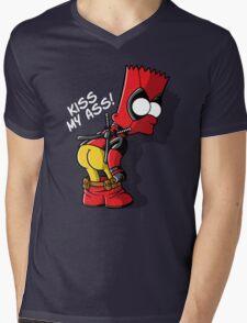 Bartpool Mens V-Neck T-Shirt