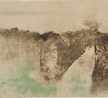 Edgar Degas - The Road in the Forest ( 1890 -  1893) by famousartworks