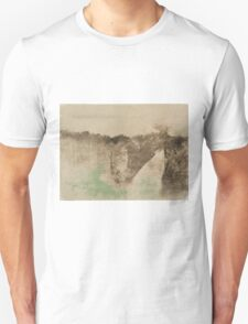 Edgar Degas - The Road in the Forest ( 1890 -  1893) T-Shirt