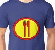 Hero, Heroine, Superhero, Super Hungry Unisex T-Shirt