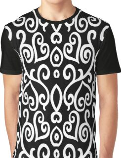 Hearted Elegance Graphic T-Shirt