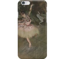 Edgar Degas - The Star ( 1876-1878) iPhone Case/Skin