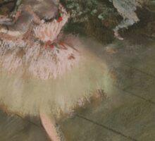Edgar Degas - The Star ( 1876-1878) Sticker