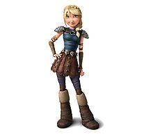 Astrid 5 - How to Train Your Dragon Photographic Print