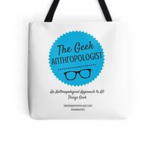 The Geek Anthropologist Logo and Infos Tote Bag