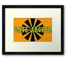 Cate Archer! Framed Print