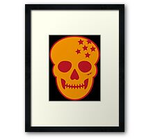 Anime Skull Framed Print